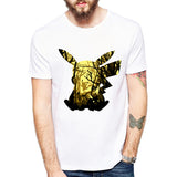 Fashion Lovely Pokemon T Shirt Anime Pika Men T-Shirts - minion.store