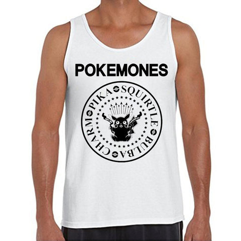 New Fashion Pikachu Cartoon Men Tank Tops The Pokemones - minion.store