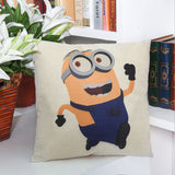 Cushion Cover Cartoon Minions Pillow  4 Styles - minion.store