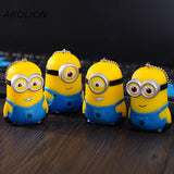 Cartoon Cute Doll Minions Anime Keychain 4 Styles - minion.store