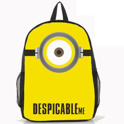 Backpack Anime Minions Nylon Laptop School Bag 13 Styles - minion.store