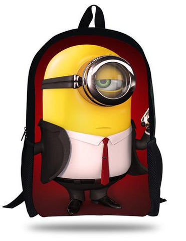 Children School Bags Minions Backpack 16 Styles - minion.store
