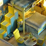Doll House Miniature 3D Wooden Puzzle Dollhouse Minion - minion.store