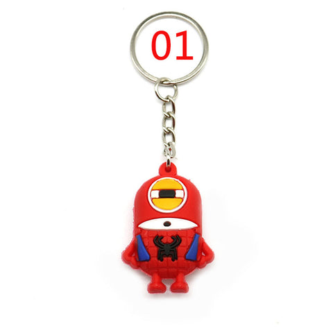 Cartoon Minions Despicable Me Keychain 6 Styles - minion.store