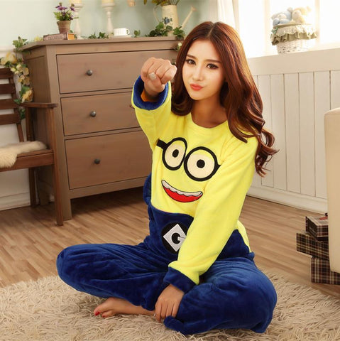 Winter Pajamas Adult Minion Sleepwear - minion.store