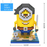 Lego Minion Micro Diamond Building Block Cosplay Humans Maid Pirates Vampire Eskimo 10Styles - minion.store