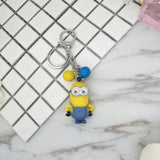 1Pc Fashion Lovely Cartoon Minions Keychain 8 Styles - minion.store