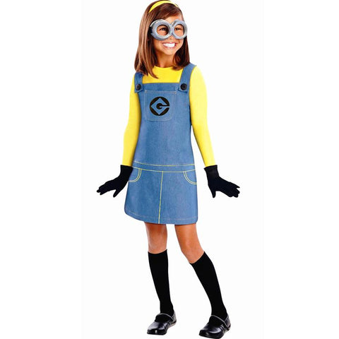 Girls Minion Cosplay Costume Kids Lovely - minion.store