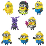 Funny Minion Mini Block Stewart Jack Tim Bob Maid Dress Devil Educational Assemblage - minion.store
