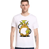 Pokemon Pikachu Men T Shirt Totoro Dragon Ball Pika 4 Styles - minion.store