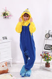 Cartoon Minions Onesies Unisex Sleepsuit Adult Pajamas Cosplay Costume 2Styles - minion.store