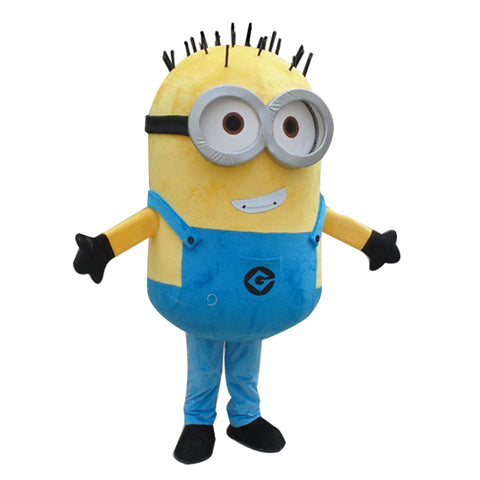 New Minions Mascot Costume EPE Fancy Dress Outfit Adult - minion.store