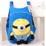 School Soft Backpack Children Minions Figure 10 Style