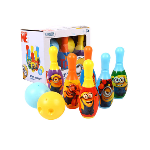 Minion Children Kids Educational Toy Party Fun Family Game Bowling Set - minion.store
