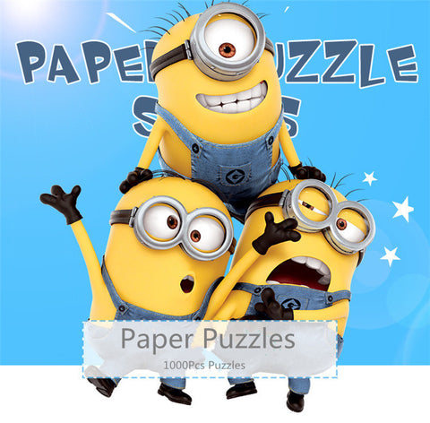 Despicable Me  For Adults Paintings 1000Pcs Classical Minions Puzzles Toys In Box - minion.store