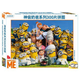 Despicable Me Puzzles 3 Styles 100/200/300Pcs Minions Jigsaw Puzzle For Adults Cartoon Paper Puzzle Toys - minion.store