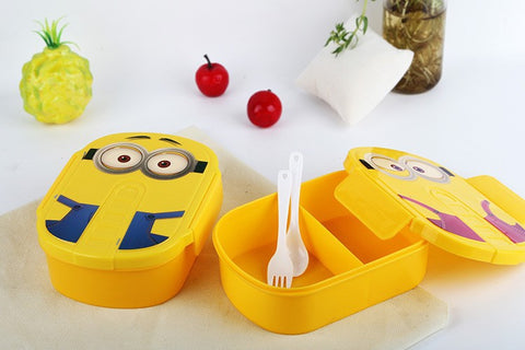 1pcs Cute Cartoon Minions Bento 2 Style - minion.store
