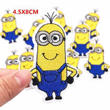 10pcs/set Minions Embroidered Patch Applique Iron On Apparel Patches - minion.store