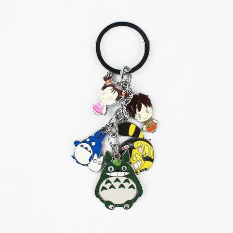 My Neighbor Totoro Metal Figure Toy Keychain - minion.store
