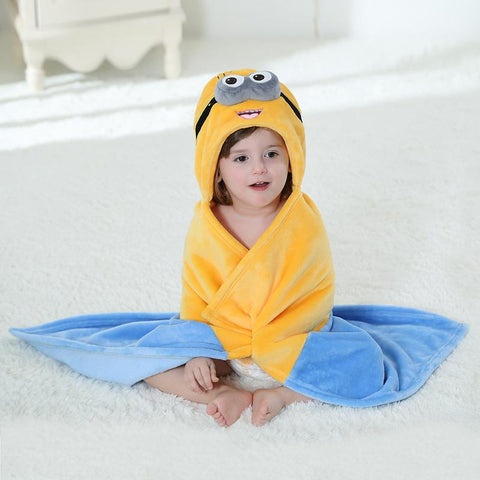 Minions Bear Cartoon Cosplay Newborn Baby  Sleepers Pajamas - minion.store