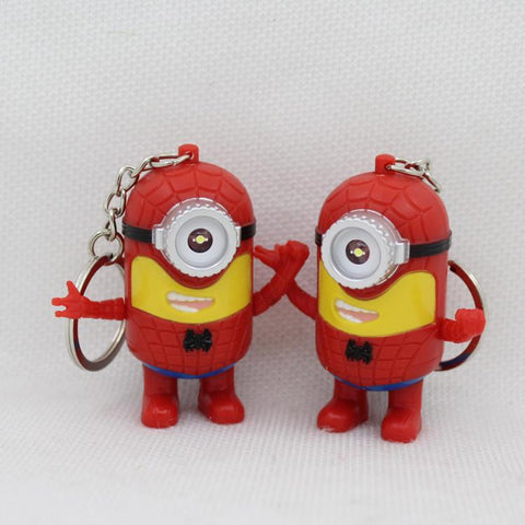 The Avengers LED Minion Flashlight Keychain - minion.store