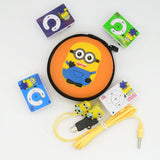 Minions MP3 Music Player 4 Kinds  Color With Earphone Cable And Packaging - minion.store