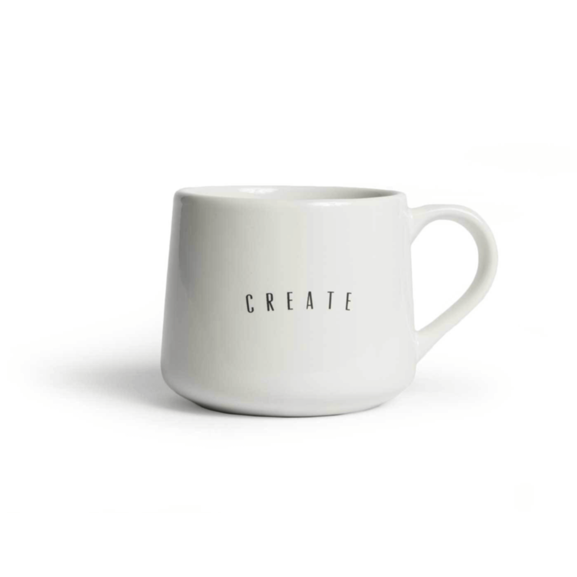 The Created Co Create Something Art Mug - available on Baxtor.co