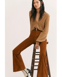 Lee Corduroy High-Rise Flares