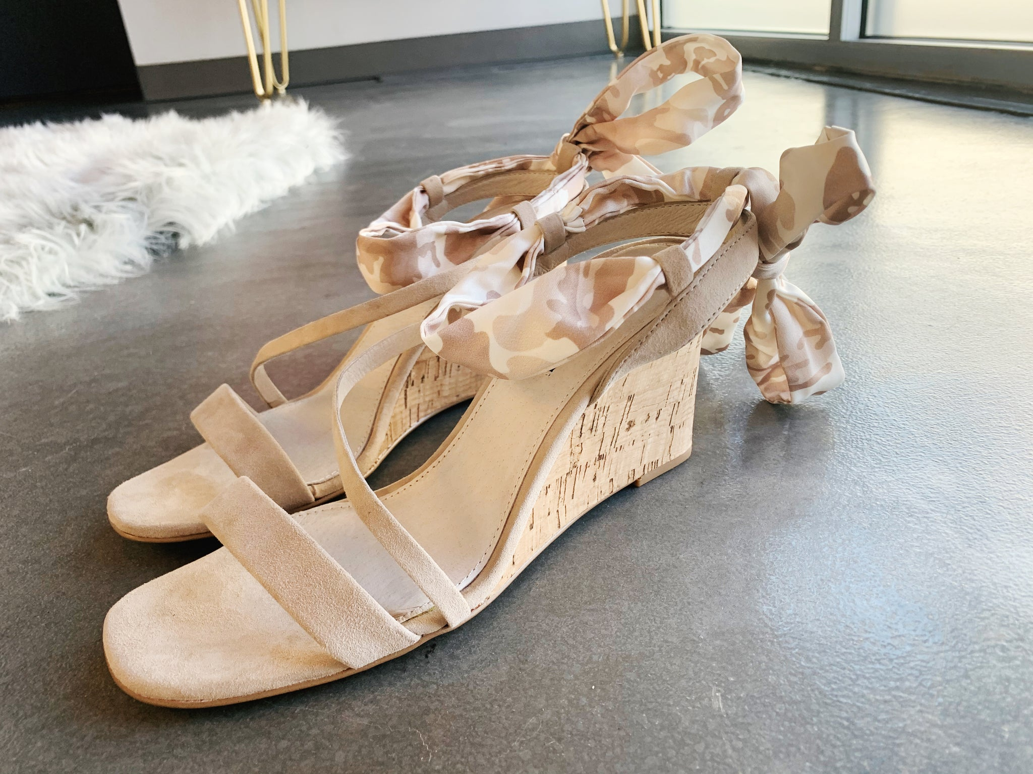 Tan Fatigue Wedge