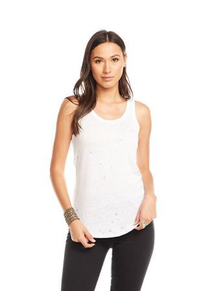 Cotton Jersey Scoop Neck Tank