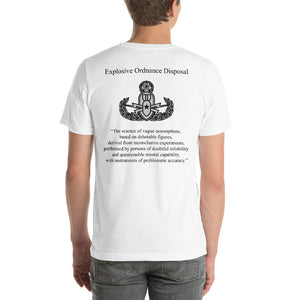 The Real Definition of EOD - Master Badge T-Shirt