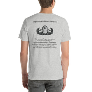 The Real Definition of EOD - Basic Badge T-Shirt