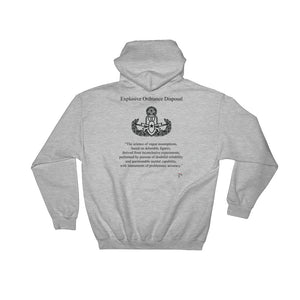 The Real Definition of EOD Hooded Sweatshirt - Master Badge