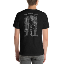 1913 Toggle Joint Breech Mechanism Patent Dark T-Shirt