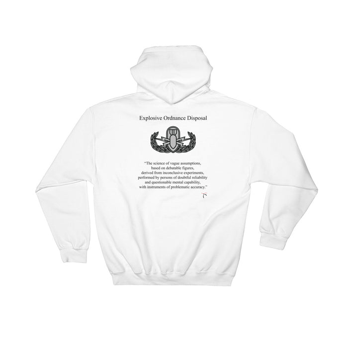 The Real Definition of EOD Hooded Sweatshirt - Basic Badge
