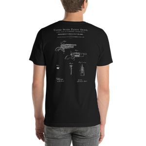 1858 Improvement in Revolving Fire-Arms Patent Dark T-Shirt