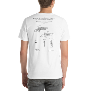 1858 Improvement in Revolving Fire-Arms Patent T-Shirt