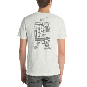 Browning 1899 Gas Operated Firearm Patent T-Shirt