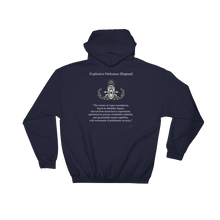 The Real Definition of EOD Dark Hooded Sweatshirt - Master Badge
