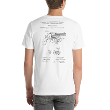Wesson 1898 Revolving Firearm Patent T-Shirt