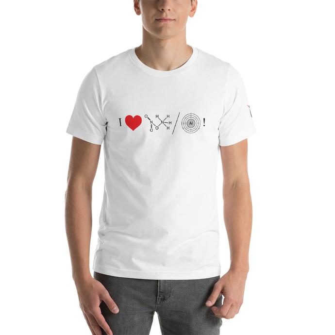 I love AN/AL Short-Sleeve Unisex T-Shirt