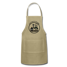 Food is the bomb Apron by Mikaela Narvaez - khaki