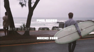 Phil Soper Surf Video Macho Fins