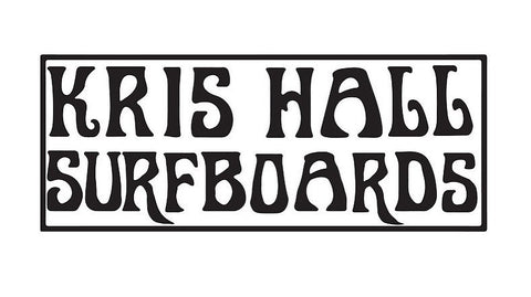 Kris Hall Surfboards Logo