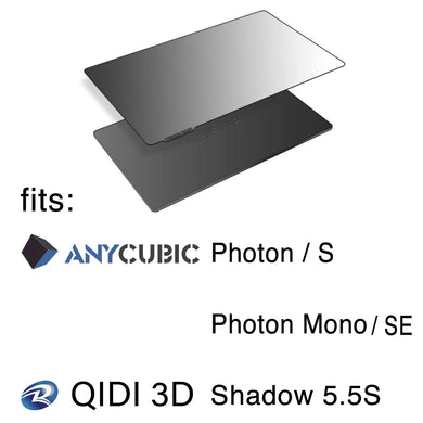 135 x 80 - Anycubic Photon/S/Mono SE and Qidi 3D Shadow 5.5S