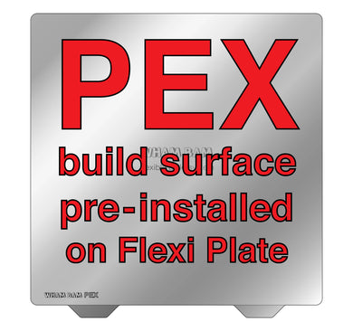 Flexi Plate with Pre-Installed PEX Build Surface