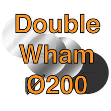 Load image into Gallery viewer, 200Ø Double Wham