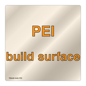PEI Build Surface