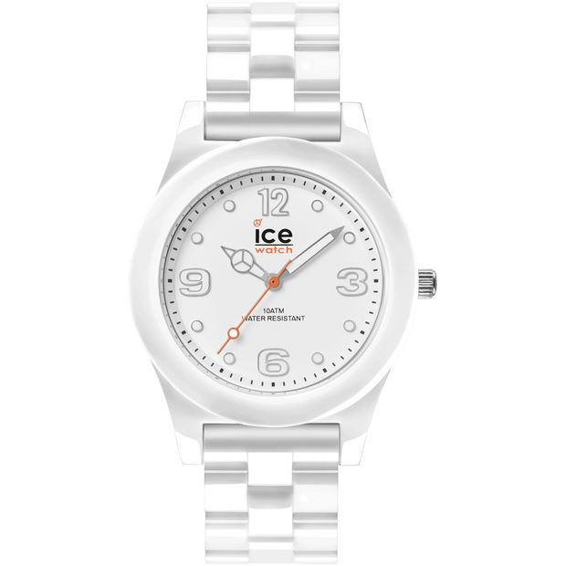 ICE Slim White 38 mm Unisex Watches 015776 - COCOMI Australia