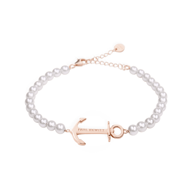 Paul Hewitt Anchor Spirit Rose Gold / Pearl Bracelet-COCOMI Australia